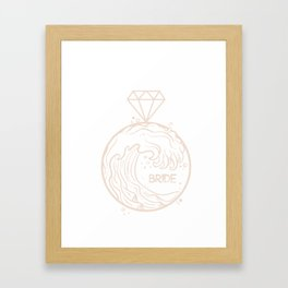 kp b srt Framed Art Print