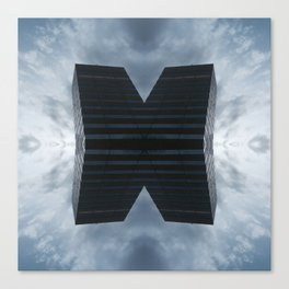 Monolit x 119 Canvas Print