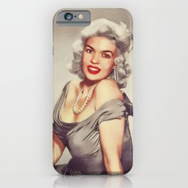 Jayne Mansfield, Hollywood Legend iPhone Case