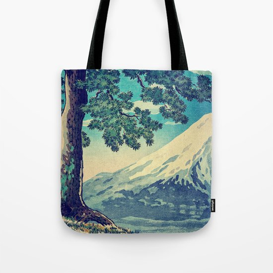 After the Snows in Sekihara Tote Bag