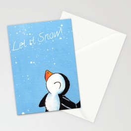 Flakey Flurry Stationery Cards