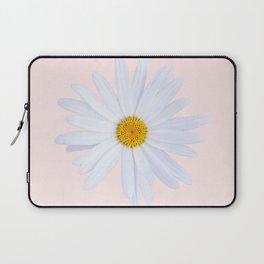 Daisy On Pink Laptop Sleeve