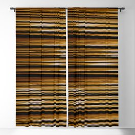 SCOTCH whiskey wood slats with shadows Blackout Curtain