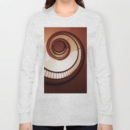 Brown spiral staircase Long Sleeve T-shirt