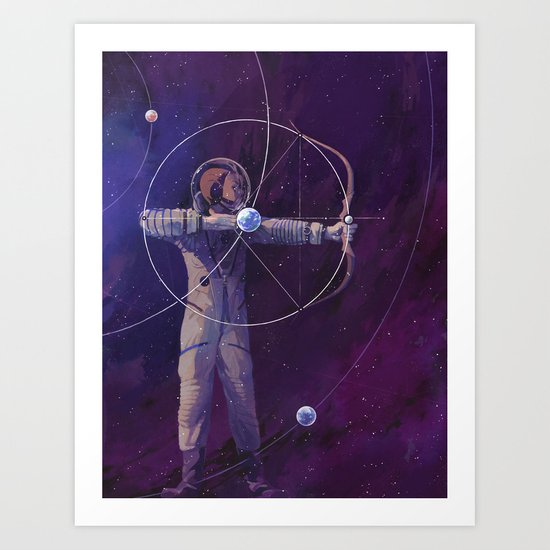 Point and Shoot Art Print