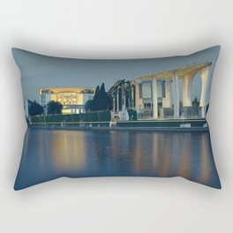 Kanzleramt Berlin Rectangular Pillow