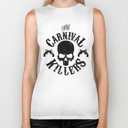 Carnival Killers (black design) Biker Tank