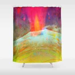 Volcanic Eruption II Shower Curtain
