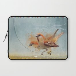 Kathmandu Cinnamon Sparrows Laptop Sleeve