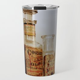 Vintage Bottle Still Life Travel Mug