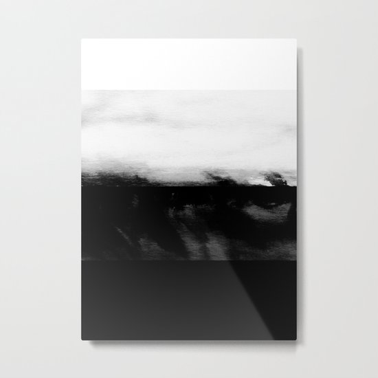 Glitch of the Subconscious Metal Print
