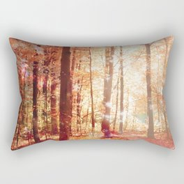 A Soul On Fire Rectangular Pillow