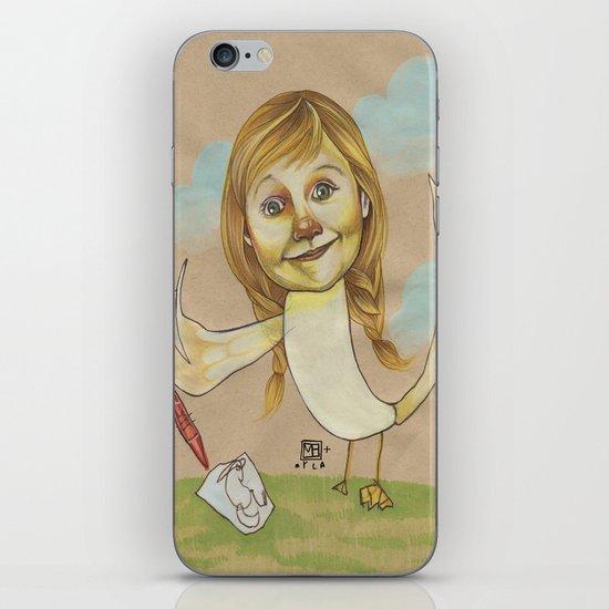 DOODLE GOOSE iPhone & iPod Skin