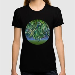 """""""Spring Forest of Surreal Leaf litter and flowers"""" T-shirt"""