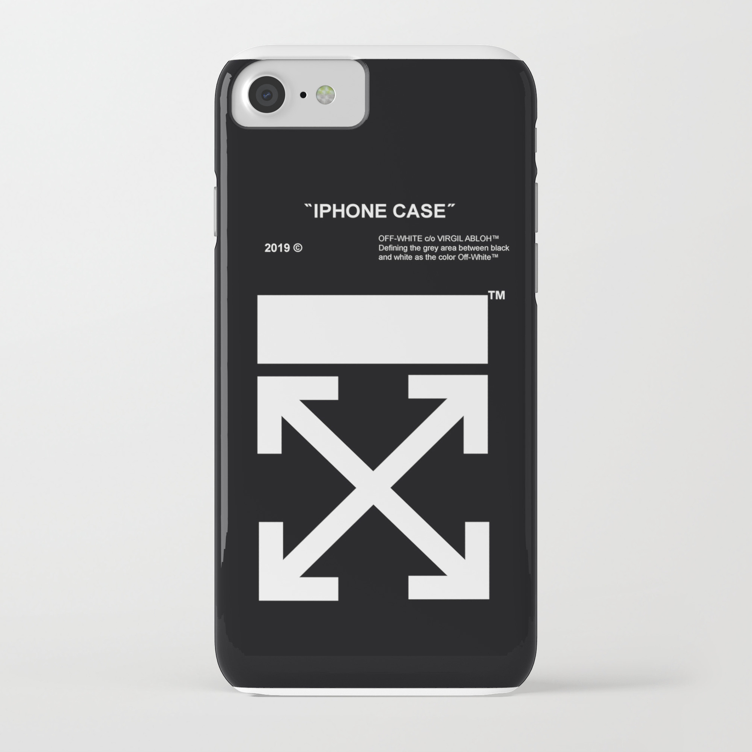 best service b8797 e00e0 OFF WHITE IPHONE CASE iPhone Case