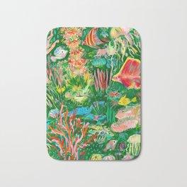 It's a sea green world Bath Mat
