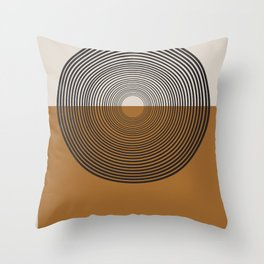 Mid Century Style, Retro  Throw Pillow