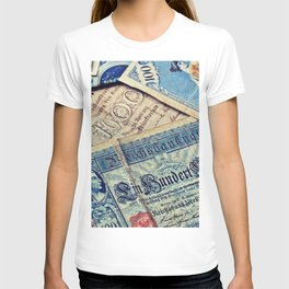 Bank Note - Imperial Banknote - Currency - Inflation. Little sweet moments. T-shirt