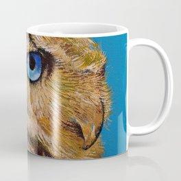 Gold Owl Coffee Mug