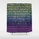 Glitter Chevron Variations III by raincarnival
