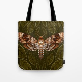 Deaths-Head Moth Tote Bag