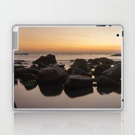 Rocky Ocean Sunrise Laptop & iPad Skin