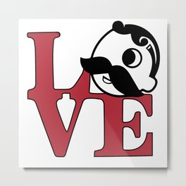 Love Natty Boh Metal Print