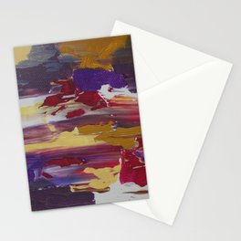 Cool Colors of Spring Stationery Cards