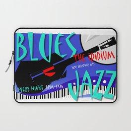 Modernist Blues / Jazz venue poster Laptop Sleeve