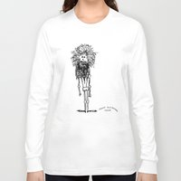 sasquatch Long Sleeve T-shirts featuring SASQUATCH by Maddy Ellwanger