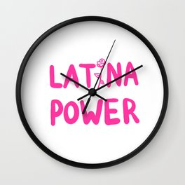 Latina Power Wall Clock