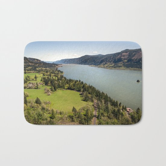 Columbia River Gorge Washington Bath Mat