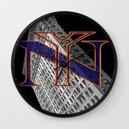 Flatiron and NY Mets Wall Clock