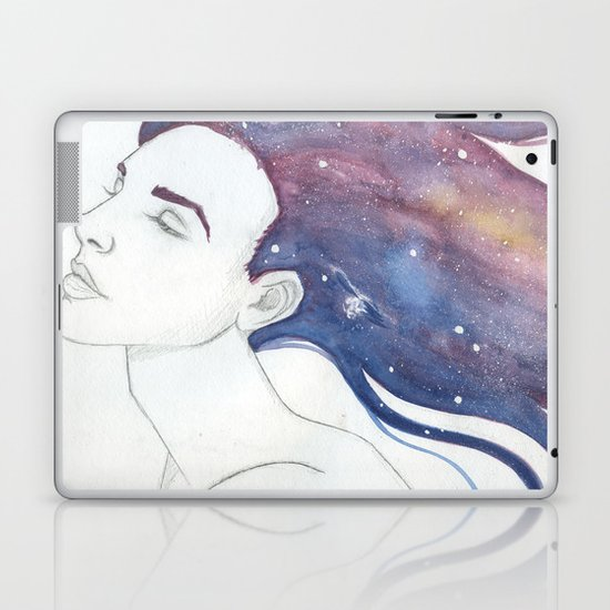 Follicular Galaxy Laptop & iPad Skin