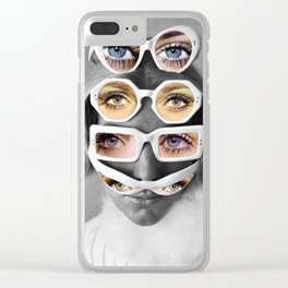 Identity crisis Clear iPhone Case