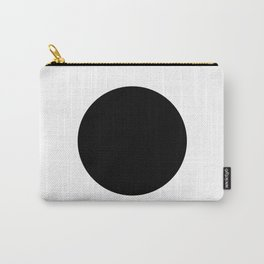 The Circle – Black Carry-All Pouch