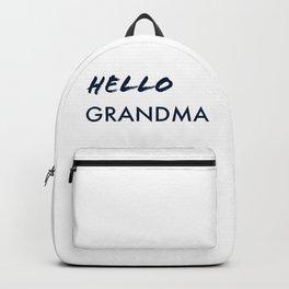 Hello Grandma Backpack