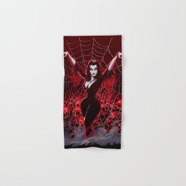 Web of Vampira Hand & Bath Towel