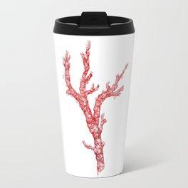 red coral - corallium rubrum Travel Mug