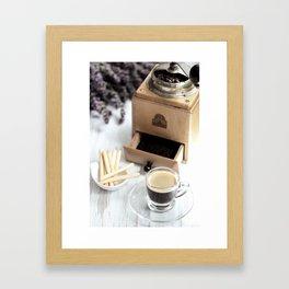 Coffee delights Framed Art Print