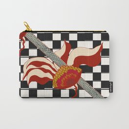 ART DECO FLOWER 37353 Carry-All Pouch