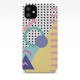 Memphis Pattern 5 - 80s - 90s - Retro iPhone Case