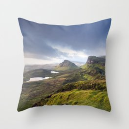 Up in the Clouds VI Throw Pillow