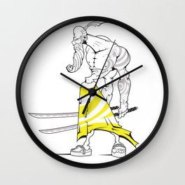 Double trouble Wall Clock