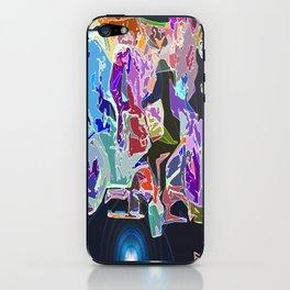 Skateboard across the Universe  iPhone Skin