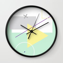 Geometric Calendar - Day 2 Wall Clock