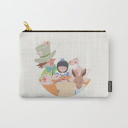 Alice and Tea Party Carry-All Pouch