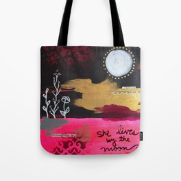 By the Moon Tote Bag