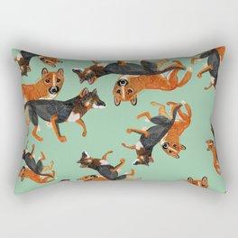 New Guinean Singing dog (c) 2017 Rectangular Pillow