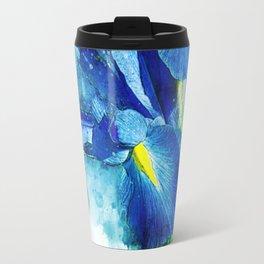 Underwater Iris Travel Mug
